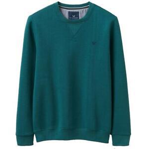 Crew Clothing Mens Baddesley Sweatshirt - Ivy - RRP £45