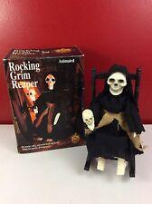 Gemmy Industries Rocking Grim Reaper w/ Box