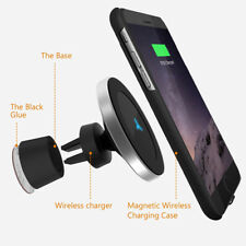 Wireless Car Charger Magnetic  Mount Holder Samsung note 9 iPhone 8 X BIG SIZE