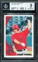 Mike Trout Rookie Card 2010 Topps Pro Debut #181 BGS 9 (8.5 10 10 9.5)