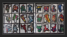 TOPPS MARVEL COMIC BOOK & SUPERHEROES TRADING CARDS CHEWING GUM STICKERS 1975-76