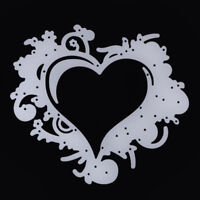 Lace Heart Shape Metal Cutting Dies Stencil Scrapbooking Embossing Card Decor