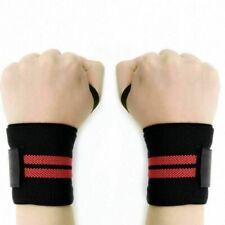 Deko Weight Lifting Straps Training Gym Gloves Hand Wrist Wraps Support Bandage