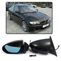 2 RETROVISEUR LOOK M3 ELECTRIQUE POUR BMW SERIE 3 E46 BERLINE DE 1998 A 03/2005