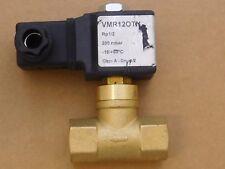 "Electrogas Gas Solenoid Valve VMR120TN - 220v, 1/2"" Brass fittings - Free Ship"