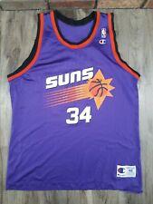 Vintage Charles Barkley Phoenix Suns #34 NBA Basketball Jersey Champion Mens 48