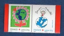 N°3991 3992 - La Paire Croix Rouge TIMBRE NEUF FRANCE 2006