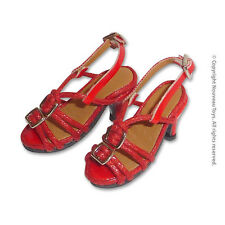 1/6 Phicen, TBLeague, Play Toy, Kumik, NT - Female Red Straps High Heel Shoes