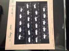 SERGE LAMA : PLANCHE CONTACT ORIGINALE DE 1977 : 22 PHOTOS  3,5x2,5cm