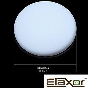 4 pack door knob wall shield protector round white self adhesive door handle