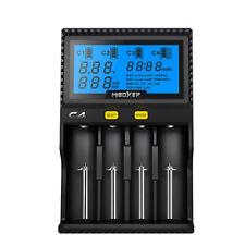 Universal Akku Ladegerät für Li-Ion/Ni-Mh/ 18650 26650 AAA AA 14500 LCD Display
