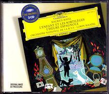 Ravel l 'heure espagnole l'enfant et les sortileges stravinsky rossignol Maazel