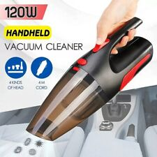 Portable Handheld Car Vacuum Cleaner Cordless/Car Plug 120W 12V 5000PA