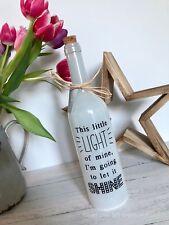 'This Little Light of Mine' LED Bottle