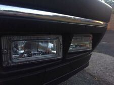 PEUGEOT 405 Mi16/T16 Driving Lights Lampe Housses X 2 Clair