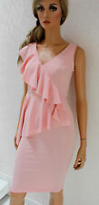 RINASCIMENTO Damen Kleid XS S 34 36 Polyestermischung rosè