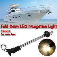 Marine Boat Yacht Light LED Anchor Navigation Lamp Fold Down Anchor Light