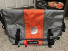 Timbuk2 Messenger Cross Body Bag - Size Large - Gray/Orange