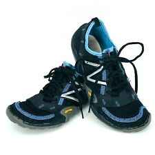 New Balance Minimus Womens Sz 8 US 39 EU Black Teal Running Trail Shoes WT10CG