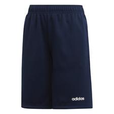 Adidas Boy's Shorts Running School Training Fashion Blue Athletic Kids DV2924