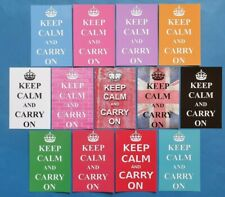 More details for new keep calm and carry on postcards, various quantities and colours available