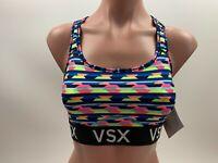 Victoria's Secret The Player Racerback VSX Sport Bra - Multicolor - Size S - NWT