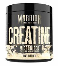 Warrior Creatine Monohydrate Powder 300g 100% Pure Micronized unFlavoured