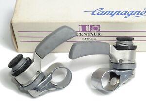 New NOS NIB Campagnolo Centaur Mtb Thumb Shifters 3x7 7 Speed Euclid