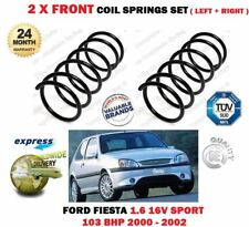 FOR FORD FIESTA MK4 1.6 16V SPORT 103BHP 2000-2002 2 X FRONT COIL SPRINGS SET
