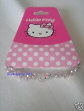 Sanrio Hello Kitty Elastic Bracelet Pink Beads 3D Heads