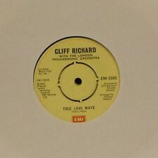 "CLIFF RICHARD 'TRUE LOVE WAYS' UK 7"" SINGLE #4"