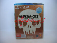 Resistance 3 Special Edition PS3 New And Sealed ,100% Pal Game( AUS ) Bundle
