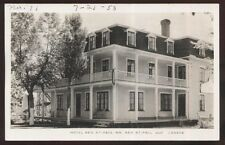 REAL PHOTO Postcard BAIE ST PAUL Quebec/CANADA  Tourist Hotel Inn view 1930's?