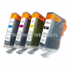 4 pk Canon PGI-225 CLI-226 Ink MG6110 MG6120 with Chip PGI-225BK CLI-226 CMY