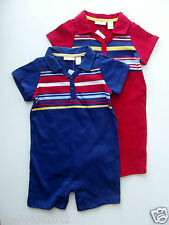((19-ITEMS LOT))First Impressions  Baby Boy BLUE & RED Sunsuit 18 Mos NWT B5389