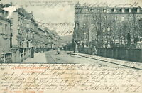 Ansichtskarte Heidelberg Neuenheim 1903 Brückenstrasse (Nr.777)