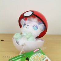 Pokemon Center Original Petit Plush in Poke Ball Case vol.3 Alola Vulpix doll
