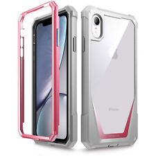 Apple iPhone XR Case | Poetic Full-Body Hybrid Bumper Protector Cover Pink