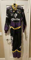 Race Used Greg Biffle #60 Charter Racing Pit Crew Fire Suit NASCAR Simpson USA