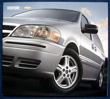 Prospekt brochure 2004 Chevrolet Chevy Venture (USA)
