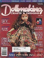 Dollmaking Crafts & Designs ~ April 1995