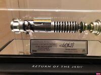 rare Lightsaber sabre laser Luke ROTJ V2 Signature SW171-SE 1:1 nb 118 / 500