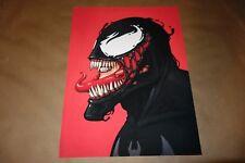 Mike Mitchell Venom Portrait Print Mondo A/P Edition