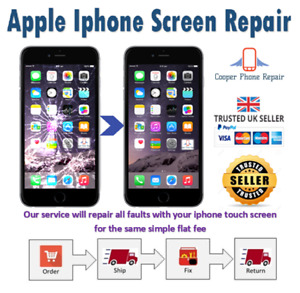 iPhone 8 Plus Full Refurbishment Service - Rear Glass & Screen - Fast Service