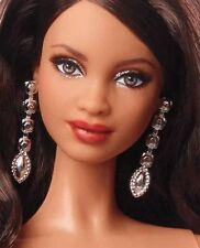 Barbie Jewelry Holiday Doll Metallic Silver Linear Earrings Accessory Only