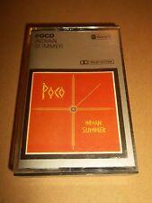 """POCO """" INDIAN SUMMER """" RARE CASSETTE ALBUM EXCELLENT 1977 UK ISSUE"""