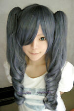 Black Butler Kuroshitsuji Ciel Phantomhive Wig Girl Blue Mix Grey Cosplay Wig