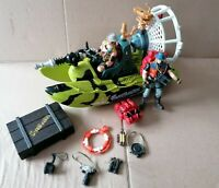 Chap Mei Hoverboat Safari Quest Playset with figures and many accessories