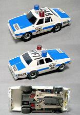 1979 Aurora AFX Magnatraction '79 Chevy Pursuit HY-71 Police Slot Car NoRadarGun