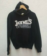 """Jack Wills Mans Navy Sweatshirt M University Outfitters Hoodie 44"""" Top Blue Med"""